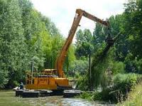 Создание ручья. Создание каскада. Устройство ручьев. Углубление и очистка рек. Устройство водопадов