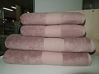 Полотенце  для лица бамбук бледно-розовое Mevsim