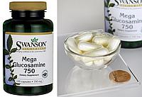 Swanson, Глюкозамин, 750 мг, 120 капсул