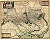Старинная карта Украины — печать на заказ