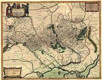 Старая карта Украины Боплана, фото 1