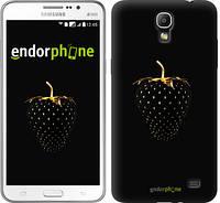 """Чехол на Samsung Galaxy Mega 2 Duos G750 Черная клубника """"3585u-327"""""""