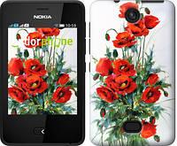 "Чехол на Nokia Asha 501 Маки ""523u-209"""