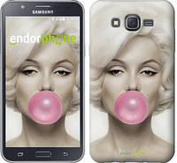 "Чехол на Samsung Galaxy J7 J700H Мэрлин Монро ""1833c-101"""