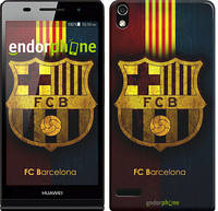 """Чехол на Huawei Ascend P6 Барселона 1 """"326c-39"""""""