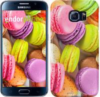 "Чехол на Samsung Galaxy S6 G920 Макаруны ""2995c-80"""
