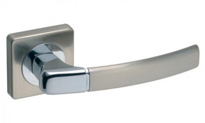 """Дверная ручка  """"Carino"""" никель-сатин"""