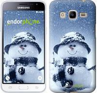 "Чехол на Samsung Galaxy J2 (2016) J210 Весёлый снеговичёк ""214u-270"""