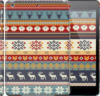 "Чехол на iPad 5 (Air) Рождественский орнамент ""3303c-26"""
