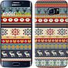 "Чехол на Samsung Galaxy S6 Edge G925F Рождественский орнамент ""3303c-83"""