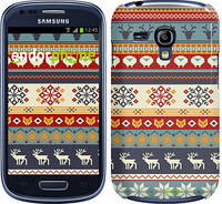 "Чехол на Samsung Galaxy S3 mini Рождественский орнамент ""3303c-31"""