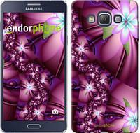 "Чехол на Samsung Galaxy A7 A700H Цветочная мозаика ""1961u-117"""