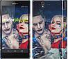"""Чехол на Sony Xperia Z C6602 Джокер и Харли Квинн """"3802c-40"""""""