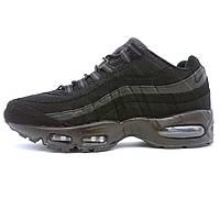 Мужские кроссовки Найк аир макс 95 Nike air max 95 черные 104220-011