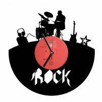 Дизайнерские часы из Vinyl Recoder Rock