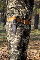 Нож охотничий ручной работы Клык, кожаный чехол в комплекте