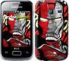 "Чехол на Samsung Galaxy Y Duos S6102 Iron Man ""2764u-251"""