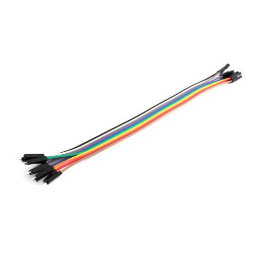 10х Dupont Дюпон кабель папа-мама 20см для Arduino