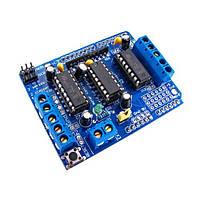 Motor Shield плата управления двигателями Arduino, 6-24В, 4 канала