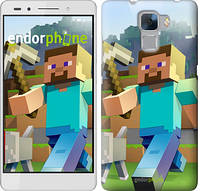 "Чехол на Huawei Honor 7 Minecraft 4 ""2944u-138"""
