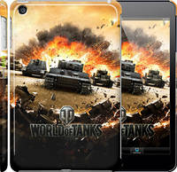 "Чехол на iPad mini 3 World of tanks v1 ""834c-54"""
