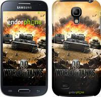 "Чехол на Samsung Galaxy S4 mini World of tanks v1 ""834c-32"""