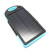 Power bank Solar 10 000mAH Портативное зарядное устройство с солнечной батареей P\BANK Solar