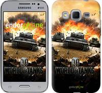 "Чехол на Samsung Galaxy J1 Mini J105H World of tanks v1 ""834c-258"""