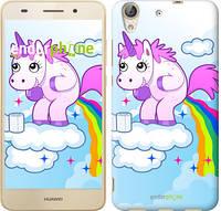 """Чехол на Huawei Y6 II Единорожка """"3796u-338"""""""