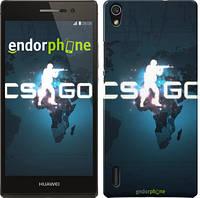 "Чехол на Huawei Ascend P7 Counter-Strike: Global Offensive ""2756c-49"""