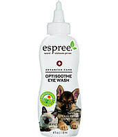 Натуральное моющее средство для глаз для собак и кошек Espree OptiSoothe Eye Wash & Clear Rinse, 118 мл