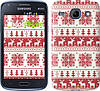 """Чехол на Samsung Galaxy Core i8262 новый год и красные олени """"1487c-88"""""""