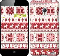 """Чехол на Motorola Moto G новый год и красные олени """"1487u-366"""""""