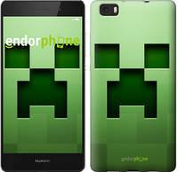 """Чехол на Huawei Ascend P8 Lite Minecraft 2 """"774u-126"""""""