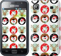 "Чехол на Samsung Galaxy S i9000 Christmas 2 ""3849c-77"""