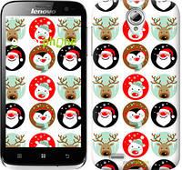 """Чехол на Lenovo A859 Christmas 2 """"3849u-197"""""""
