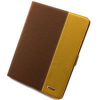 Чехол-книжка для iPad 2/3/4 пластиковая накладка Rich Boss коричневый