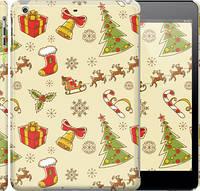 "Чехол на iPad 5 (Air) Новогодняя текстура v2 ""1483c-26"""