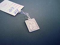 Серебряный подвес-ладанка  Божией Матери «Споручница грешных»