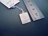 Серебряный подвес-ладанка  Божией Матери «Споручница грешных», фото 2