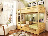 Двухъярусная кровать Дуэт 90 х 200 щит