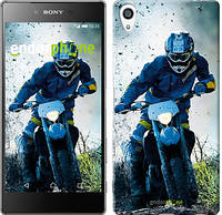 """Чехол на Sony Xperia Z5 Premium Мотокросс """"3013u-345"""""""