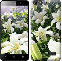 """Чехол на Huawei Honor 4C Белые лилии """"2686u-183"""""""