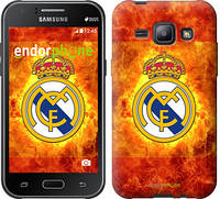 "Чехол на Samsung Galaxy J1 J100H Реал Мадрид 1 ""342c-104"""