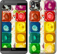 "Чехол на HTC Desire 826 dual sim Палитра красок ""2837u-312"""