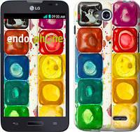 """Чехол на LG L80 Dual D380 Палитра красок """"2837u-332"""""""