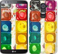 """Чехол на LG K8 K350E Палитра красок """"2837c-297"""""""