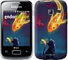 "Чехол на Samsung Galaxy Y Duos S6102 Кошкин сон ""3017u-251"""