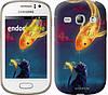 "Чехол на Samsung Galaxy Fame S6810 Кошкин сон ""3017u-254"""