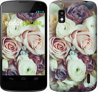 """Чехол на LG Nexus 4 E960 Букет роз """"2692u-203"""""""